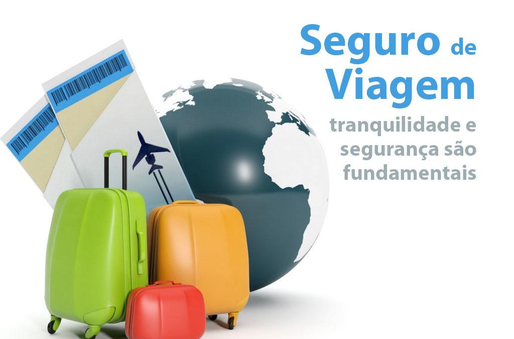 Seguro de viagem: tranquilidade e segurança são fundamentais
