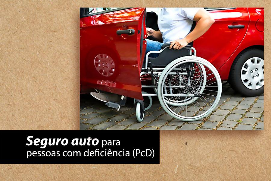 Seguro auto para pessoas com deficiência (PcD)