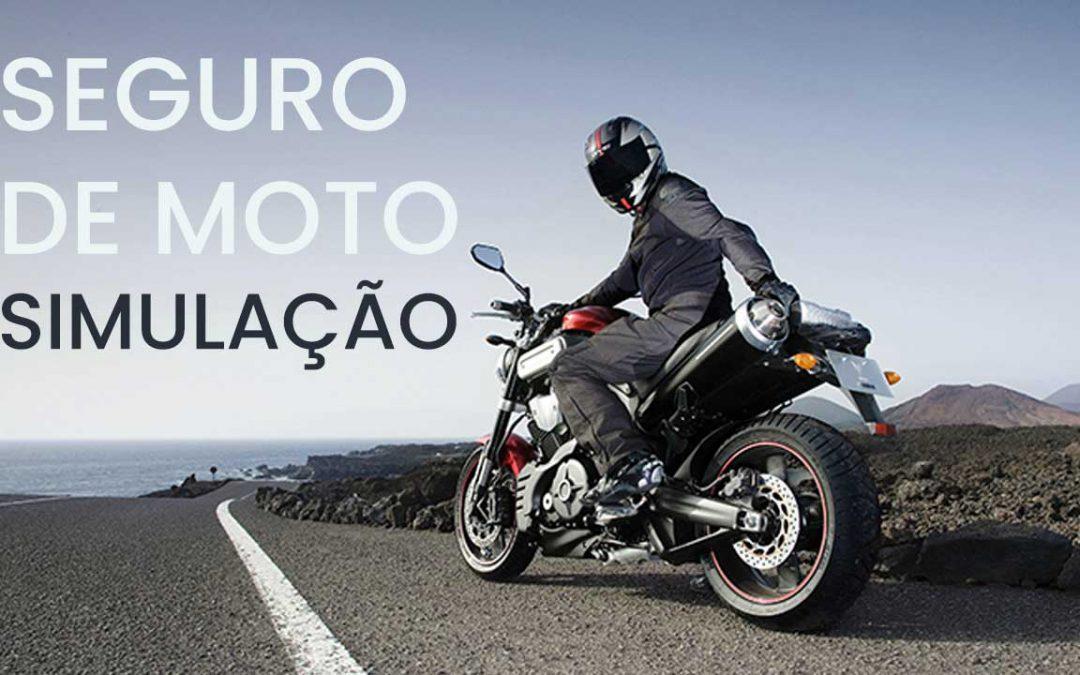 Simulação de seguro de moto em Aracaju em 2020
