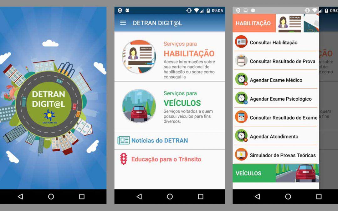 O DETRAN Sergipe já dispõe de um aplicativo e ele pode facilitar sua vida!