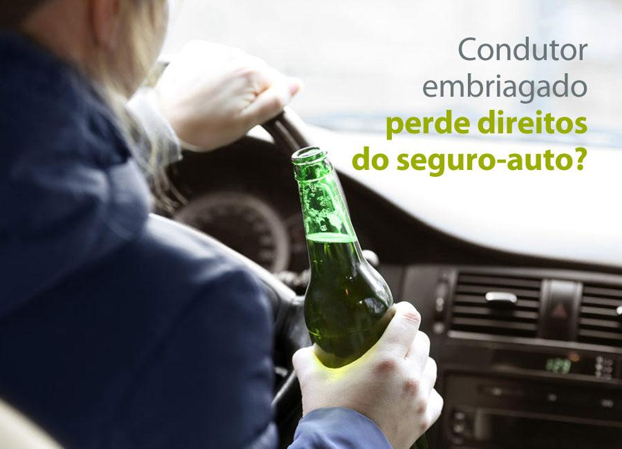 Condutor embriagado perde direitos do seguro-auto?