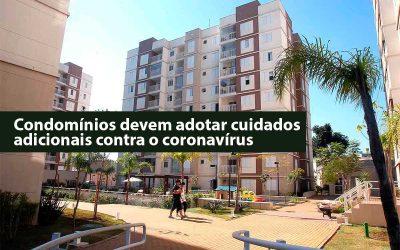 Cuidados com o coronavírus em condomínios