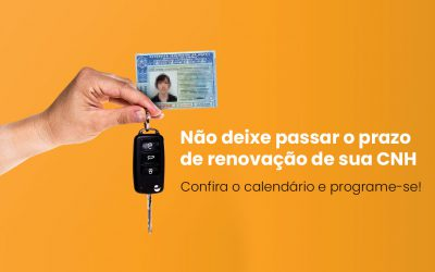 Renovação de CNH? Saiba como renovar sua carteira de motorista no DETRAN Sergipe.