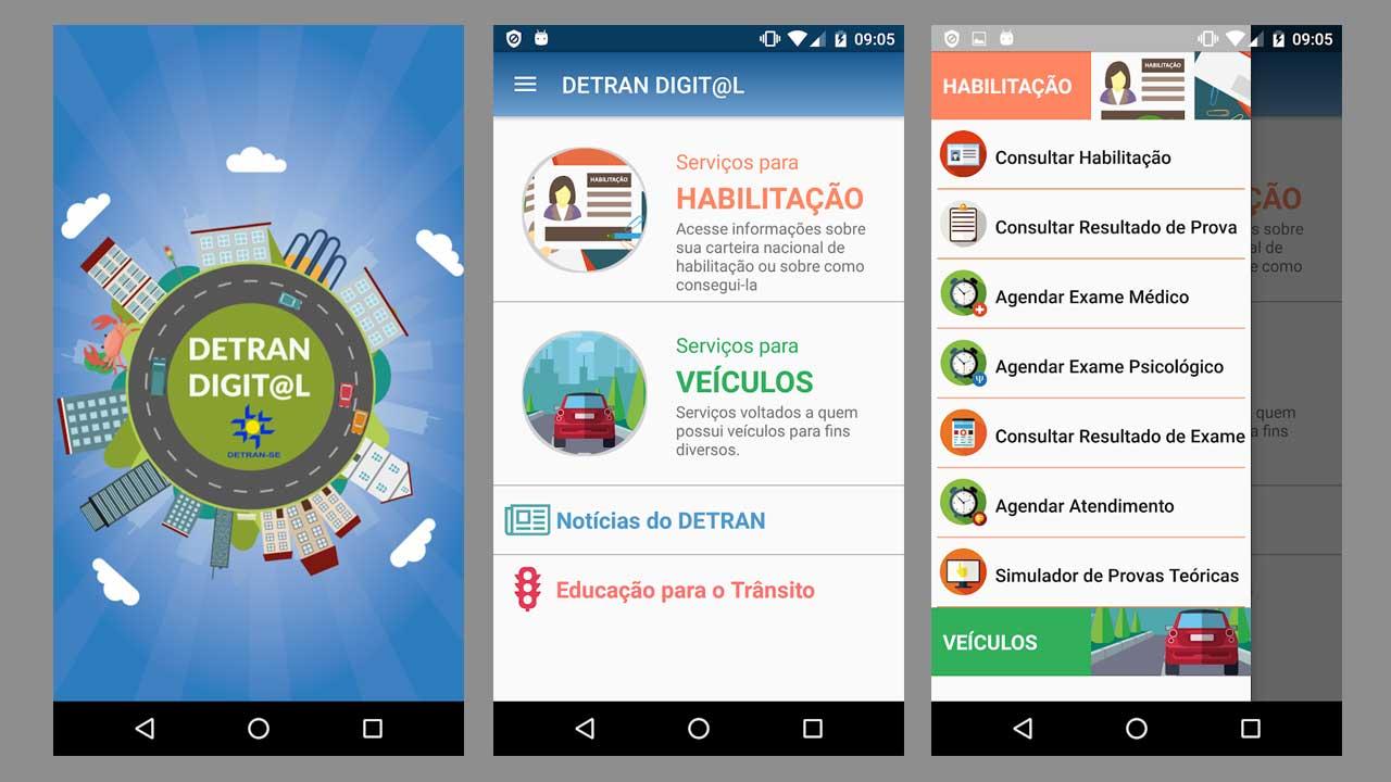 Aplicativo DETRAN Sergipe
