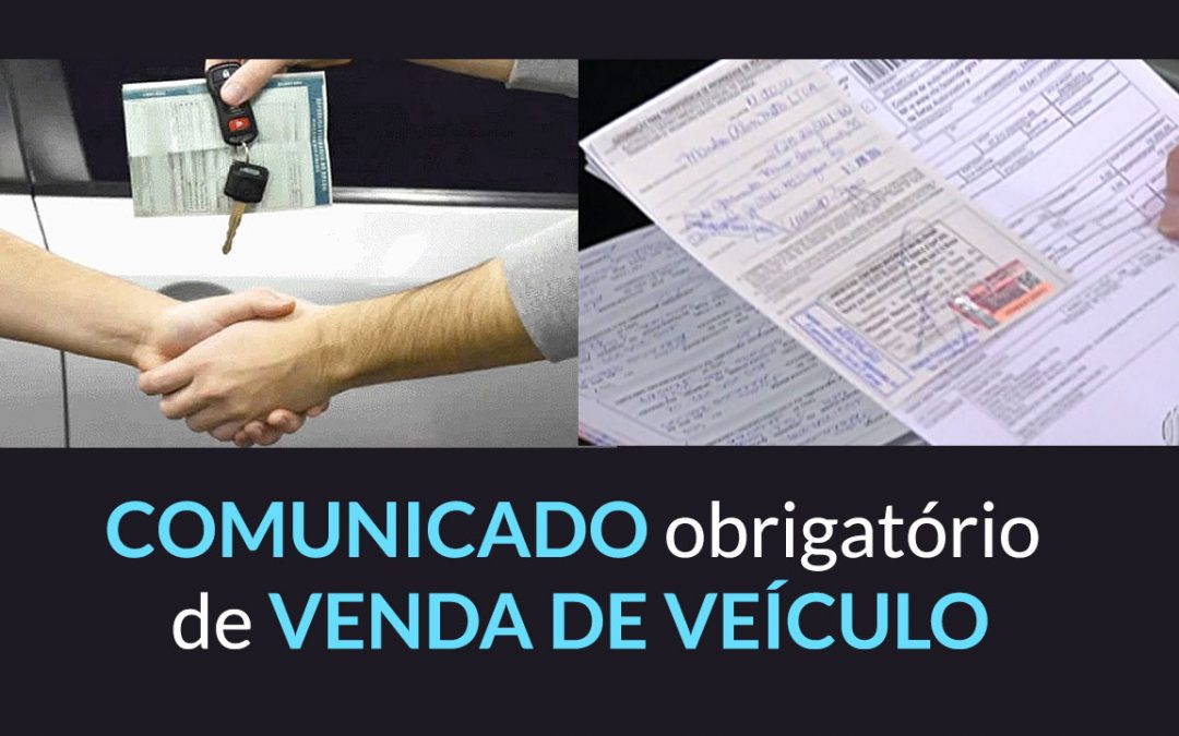 [Modelo] Comunicado de venda de veículo DETRAN Sergipe